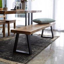 우드인미 소나무 통원목 에코 2000긴벤치 원목의자/원목식탁의자/우드슬랩/카페의자