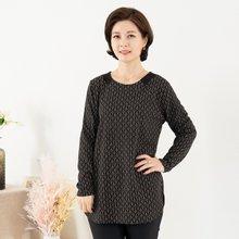 마담4060 엄마옷 배색고리티셔츠 ZTE910024