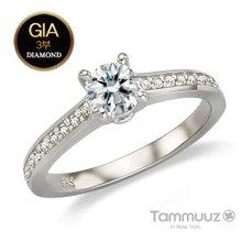 [타뮤즈]14K GIA3부 다이아몬드-시크릿-D2019R-반지