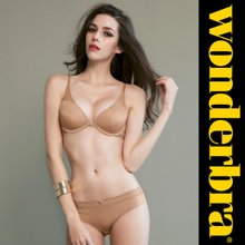 [Wonderbra] 원더브라 에센셜 베이직커버 베이지 브라팬티 2종세트 WBW7G04_T