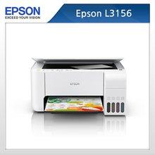 [엡손] 정품무한 칼라 잉크젯 프린터 복합기 L3156 / 인쇄+복사+스캔 (기본잉크포함)