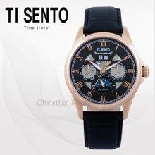 티센토(TISENTO) 남성시계(TS50401BROBK/가죽/오토매틱)