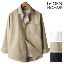 르젠 스크래치 싱글포켓 노멀핏 셔츠(LNSH1268PE)
