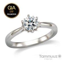[타뮤즈]14K GIA5부 다이아몬드-뮤즈-D2020R-결혼반지