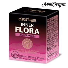 [유한건강생활] 뉴오리진 이너플로라 60캡슐 여성 질유산균 프로바이오틱스