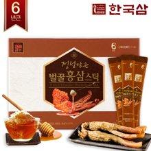 [한국삼] 정성담은 벌꿀 홍삼스틱 10g x 30포/쇼핑백증정