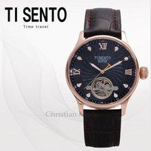 티센토(TISENTO) 남성시계(TS50301BROBR_M/가죽/오토매틱)
