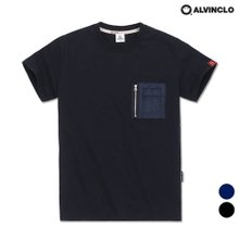 [앨빈클로]AST-3858 항공 MA-1 반팔 티셔츠