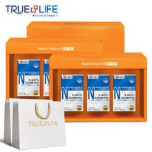 트루앤라이프 [쇼핑백증정] 관절과연골 건강 N-아세틸 글루코사민PTP 3개입 선물세트 x 2세트