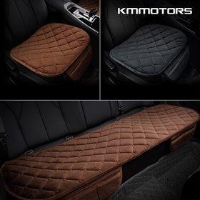 [KMMOTORS] 케이엠모터스 극세사 퀼팅 겨울방석 차량용 방석(1+1)