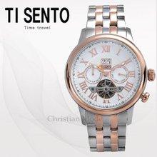 티센토(TISENTO) 남성시계(TS50041CB/메탈/오토매틱)
