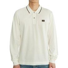 [씨피컴퍼니] 로고 08CMPL070A 005263W 103 남자 폴로 긴팔 티셔츠 슬림핏