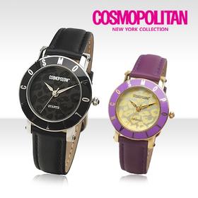 [코스모폴리탄 시계] 한국 공식본사 정품 여성 가죽 시계 CP-101L
