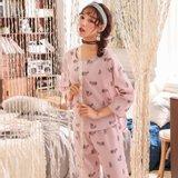 모스트2072 루미캣 여성 도비면 홈웨어 세트 (2color)