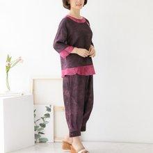 마담4060 엄마옷 인견생활한복상하세트 QKC905006