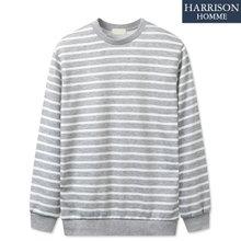 [해리슨] 남자 특양면 단가라 맨투맨 MDL1249