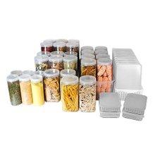 [실리쿡] 냉동실수납용기 올인원정리 1+1세트 (46종)