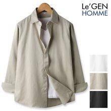 르젠 베이직 톤다운 히든버튼 코튼 셔츠(LNSH1272PE)