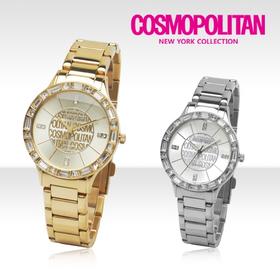 [코스모폴리탄 시계] 한국 공식본사 정품 여성 메탈 시계 CP-105L