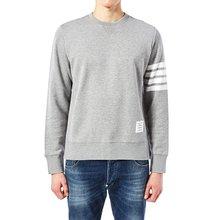 [톰브라운] 사선 완장 MJT021H 00535 068 남자 긴팔 맨투맨 티셔츠