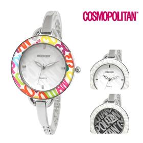 [코스모폴리탄 시계] 한국 공식본사 정품 여성 메탈 시계 CP-106L
