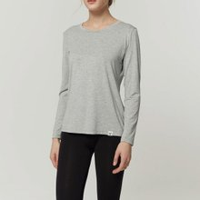 부디 롱 슬리브 크루 넥 티셔츠 WTTS501