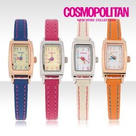 [코스모폴리탄 시계] 한국 공식본사 정품 여성 가죽 시계 CP-1209L