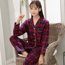 모스트2022 체크메이트 여성 잠옷 파자마 세트 (4color)