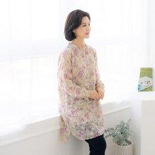 엄마옷 마담4060 꽃을따라롱블라우스-ZBL002012-