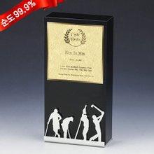 [골드모아] 순금 골프 금판 트로피 7.5g 24k [CG198GF]