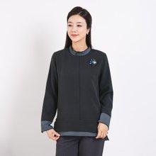 마담4060 엄마옷 겹꽃잎티셔츠-ZTE910055-