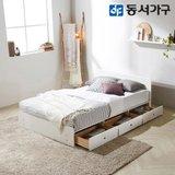 동서가구 루젠 깊은서랍 슈퍼싱글 침대 (매트리스포함) DF636141