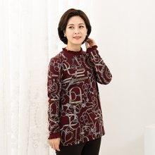마담4060 엄마옷 럭셔리반폴라티셔츠-ZTE911041-
