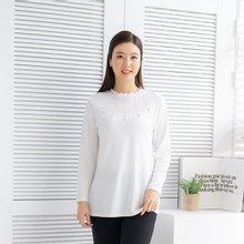 마담4060 엄마옷 하늘의진주티셔츠-ZTE002001-