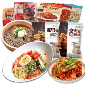 새콤달콤 쫄면 10인분 세트 (쫄면2kg+비빔장10팩)