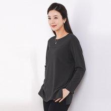 마담4060 엄마옷 무지절개티셔츠-ZTE910053-