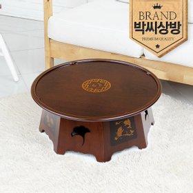 [박씨상방]1.5원상감평풍(장생도) 찻상