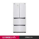 [LG] DIOS 김치톡톡 스탠드형 샤이니 화이트 K418SW11 (402ℓ)