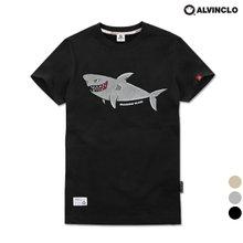 [앨빈클로] AST-3779 상어 반팔 티셔츠