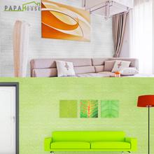 [파파하우스] 3D항균 폼블럭 500x100cm 단열벽지 쿠션벽돌 벽지 시트지