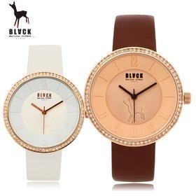 [블랙마틴싯봉]440 Cubic bezel watches(BKL1518L_GAVD440)
