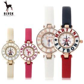 [블랙마틴싯봉]413 Convex bezel watches(BKL1525L_GAVD413)