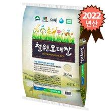 2019년 햅쌀 김화농협 철원오대쌀 20kg
