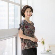 마담4060 엄마옷 인견후렌치티셔츠 QATE903001