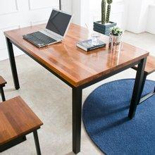 멀바우원목 홈즈 4인용 식탁테이블