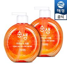 [애경]순샘 구연산 자몽 500mlx2개