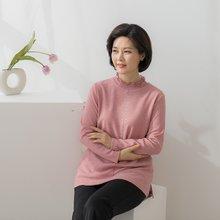 마담4060 엄마옷 큐빅분수반폴라티셔츠-ZTE001054-