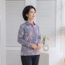 마담4060 엄마옷 화사한코스모스티셔츠-ZTE001052-