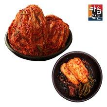 [마음심은] 이종임 포기김치9kg+석박지3kg