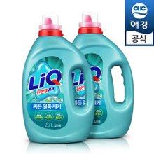 액체세제 리큐 일반/드럼용 3L(용기)×2개